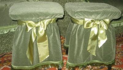 Украшаем дома стулья к празднику
