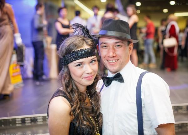 Роскошные наряды для вечеринки в стиле Гэтсби. Фото с сайта geometria.ru