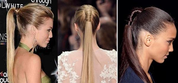 Волосы, аккуратно собранные в хвост,смотрятся очень эффектно. Фото с сайта kaktotak.info