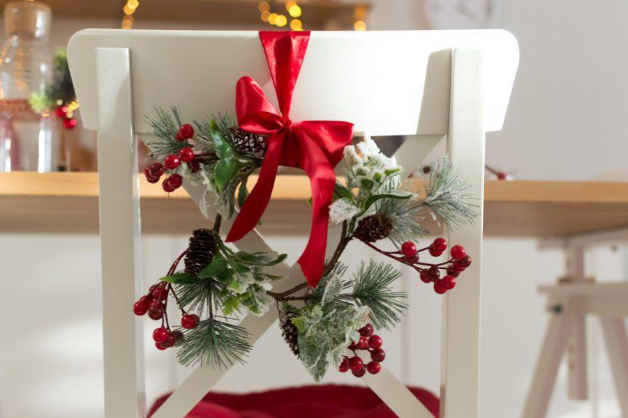 Декор и сервировка новогоднего стола 2019