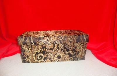 Оригинальная шкатулка из коробки — для красивых вещиц. Фото с сайта http://podelki-doma.ru