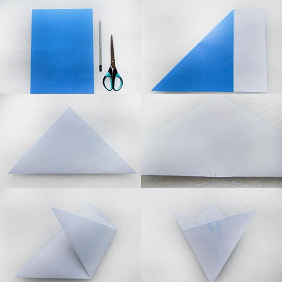 Делаем объемные снежинки из бумаги на Новый Год