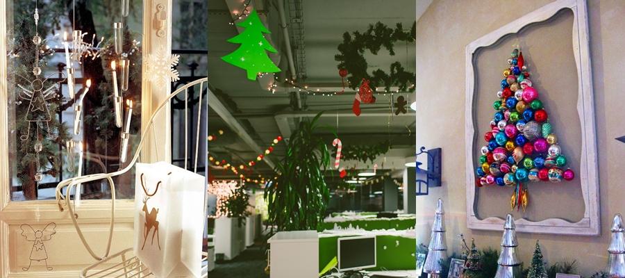 Украшаем офис к Новому Году - Сам себе декоратор