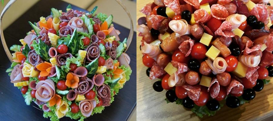 korzina Как собрать мясную тарелку: выбор мяса, аккомпанемент, правила сервировки