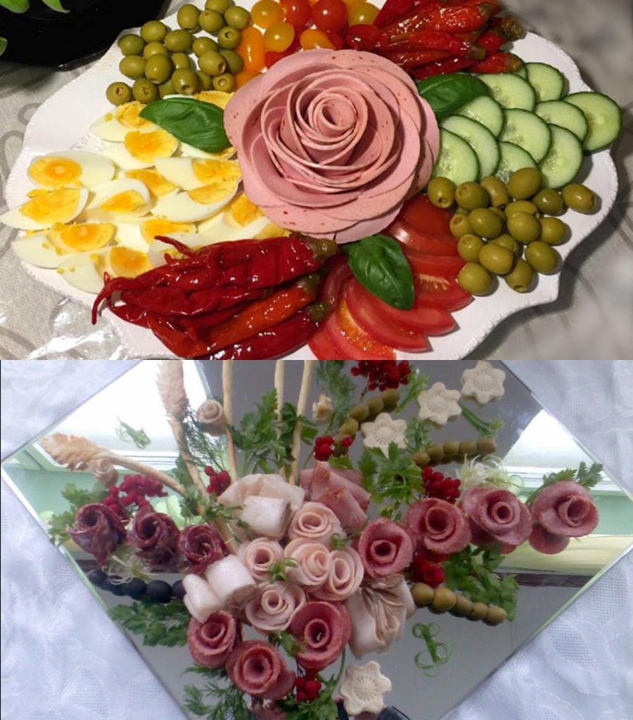 rozochki Как собрать мясную тарелку: выбор мяса, аккомпанемент, правила сервировки