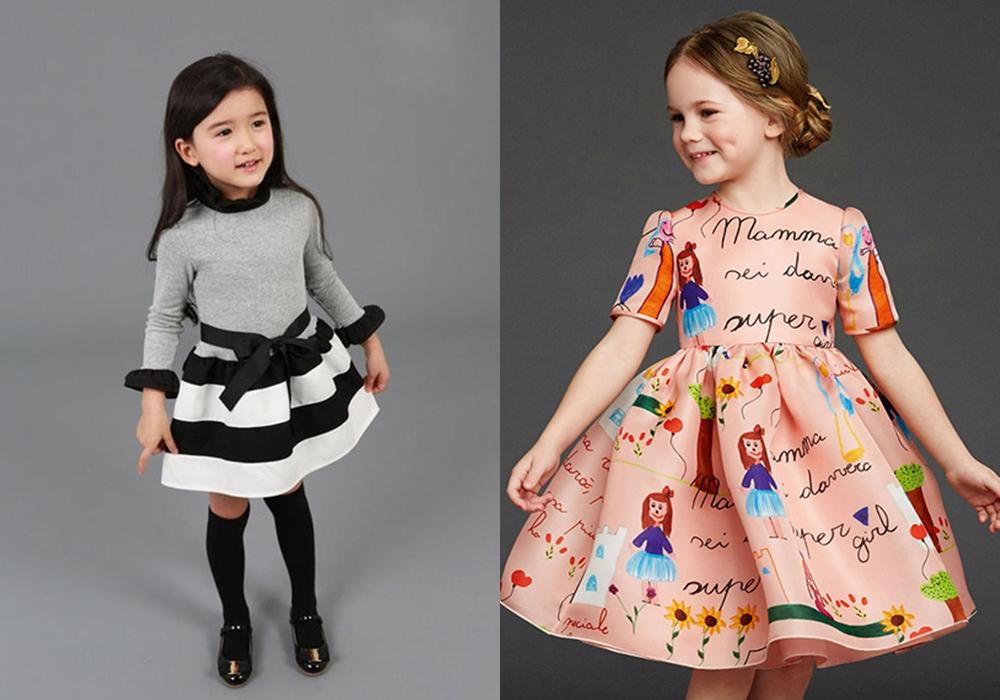 Нарядные платья для юных модниц
