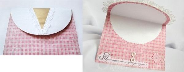 Последние штрихи: украшаем кружевом и пуговичками. Фото с сайта http://aquamaniya.ru/