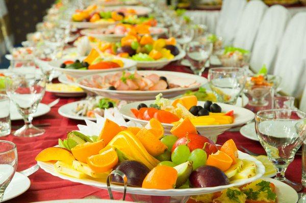 Салаты на свадебный стол - рецепты с фото на Повар. ру (167)