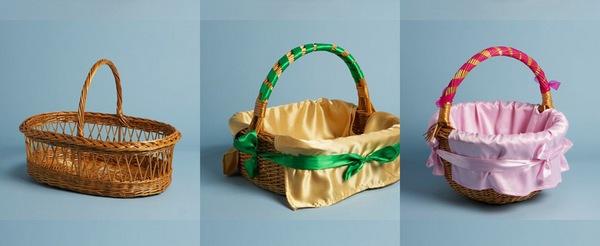Оформляем подарочную корзину на свой вкус. Фото с сайта odintsovo.all.biz