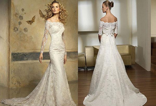 Оригинальные модели платьев с рукавами. Фото с сайта minutnoe-nastroenie.ru