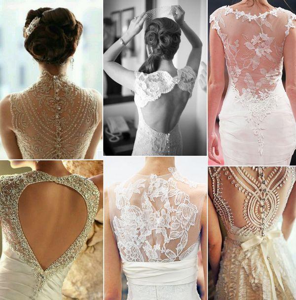 Нежно и волшебно — платья с открытой спиной. Фото с сайта www.cardstory.ru