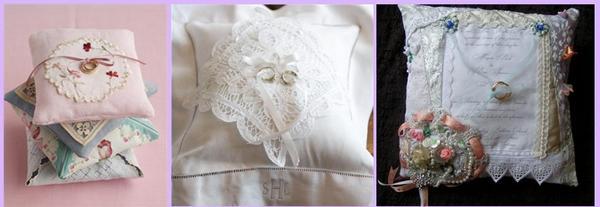 Выбираем подушечку под стиль свадьбы. Фото с сайта www.lumo.ru