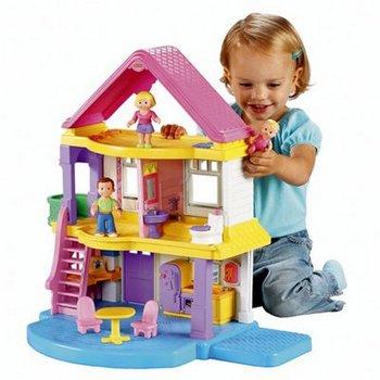 Конструкторы и домики очень любят малыши. Фото с сайта www.happy-giraffe.ru
