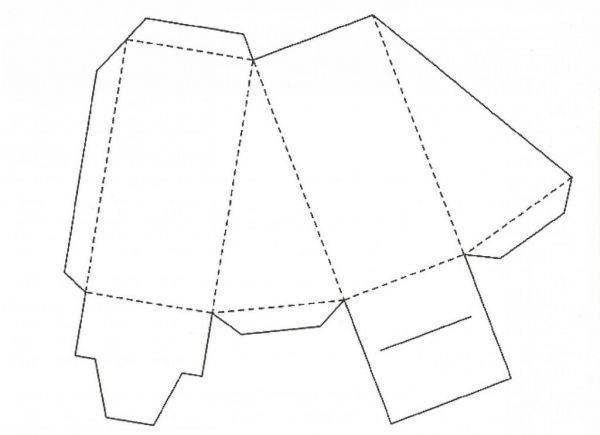 Кусочек торта — схема. Фото с сайта http://svadba-vals.ru/