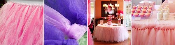 Празднично: юбка для свадебного стола. Фото с сайта www.discoverwedding.ru