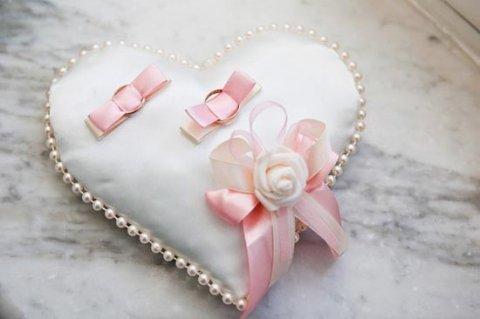 Подушечка-сердце для колец — шьем сами. Фото с сайта for-you.dn.ua
