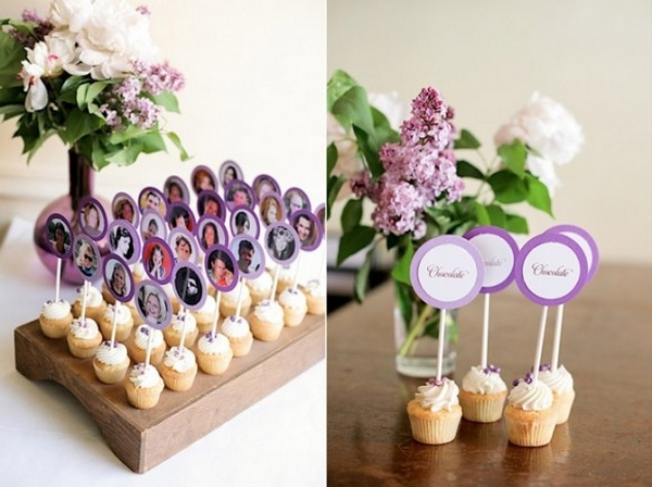 Необычная идея — карточки с фотографиями. Фото с сайта http://beautiful-wedding.ru/l