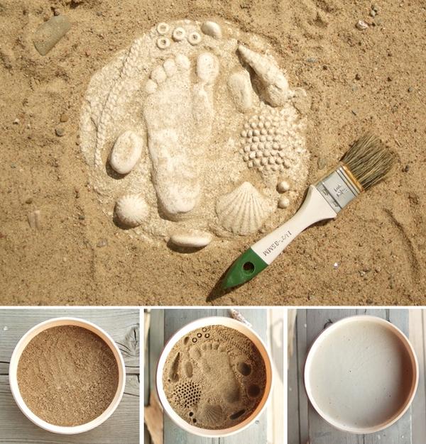 Слепок из песка. Фото с сайта prazdnik-nor.ucoz.ru