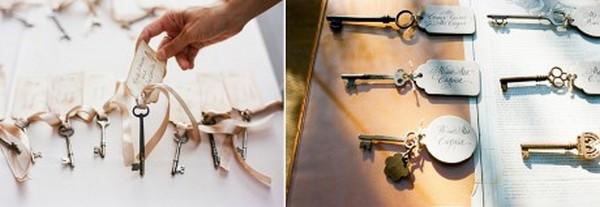 Интересная идея с ключами. Фото с сайта http://nashasvadba.net/