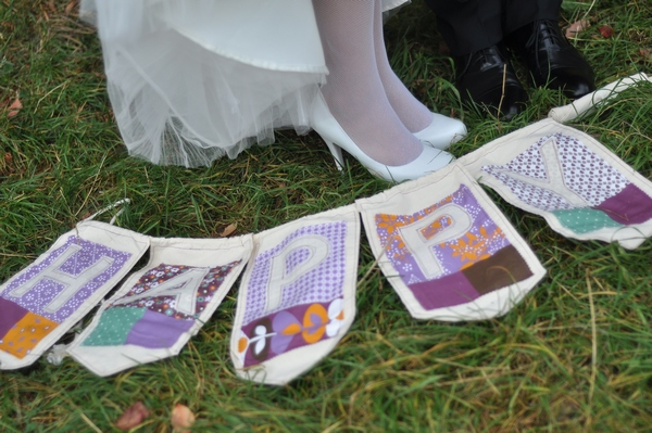 Флажки из ткани — просто и оригинально