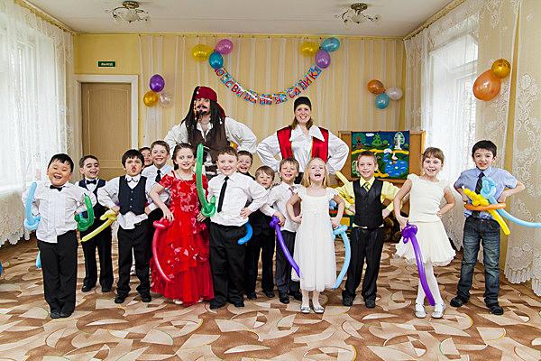 Пиратская тема особенно нравится детям, ведь это приключения, подвижные игры и веселье. Фото с сайта lion-king.ru
