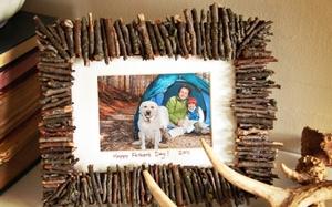 Делаем рамку для фото сами в подарок папе. Фото с сайта www.galya.ru