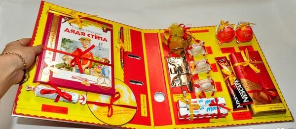 Наполняем органайзер любимыми сладостями. Фото с сайта www.liveinternet.ru