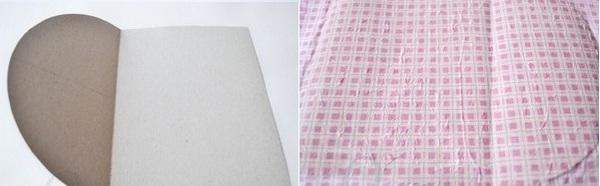 Сгибаем картон и декорируем его салфеткой. Фото с сайта http://aquamaniya.ru/