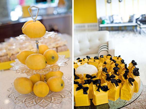 Для лимонной свадьбы и сувениры соответствующие. Фото с сайта http://nashasvadba.net