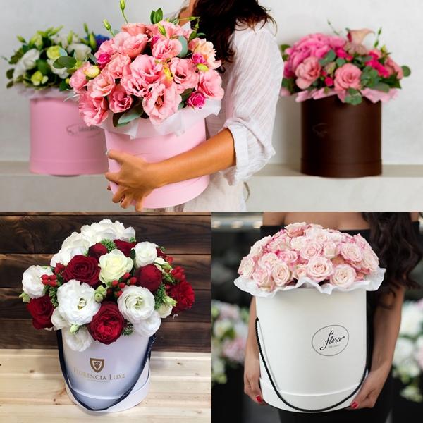 Цветы в кробке